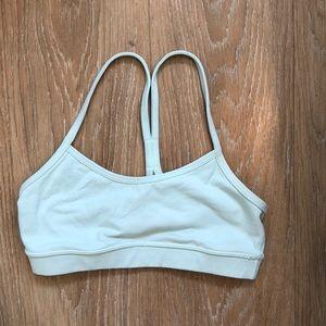 Lululemon sports bra size 4 - power y teal